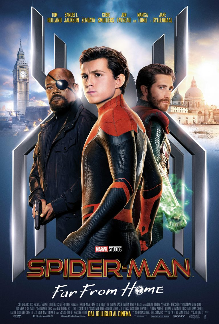 Locandina Spider-Man: Far from Home